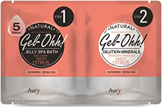AvryBeauty Gel-Ohh Jelly Spa - Sweet Citrus, 1 ct.