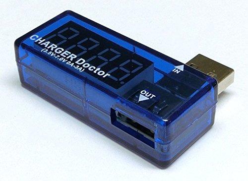 USB端子 電流/電圧チェッカー