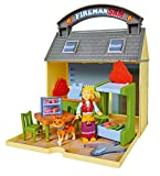 Simba 109251057 Feuerwehrmann Sam Kabeljaucafe mit 2 Figuren