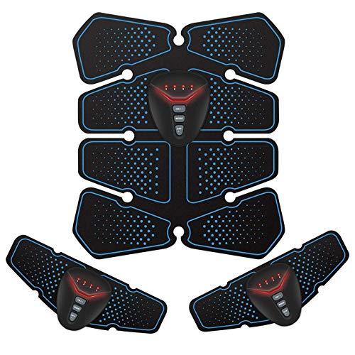 NOWKIN Elettrostimolatore per Addominali Elettrostimolatori Professionale Massaggianti Cintura Muscolare Addominale Tonificante Massager USB Ricaricabile EMS Stimolatore Braccio/Vita/Gambe/Glutei