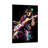 shaofu Carlos Santana Poster, dekoratives Gemälde,