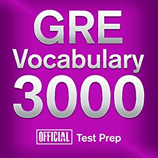GRE Vocabulary 3000: Official Test Prep cover art
