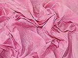 Taft-Kleiderstoff, knitterfrei, Candy Pink, Meterware