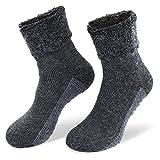 StilwerX Alpaka-Wollsocken mit ABS-Antirutschsohle - Die sanfte Entspannung für die Füße - so...