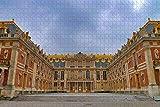 LeiFengYun para Adultos 1000 Piezas Rompecabezas para Puzzle Rompecabezas Puzzle Palacio de Versalles, París, Francia Divertido Juego Familiar interesantes Amigo Familiar
