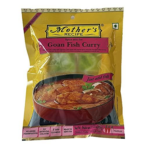カレーペースト ゴア魚カレー 80g Mother's Recipe 本格派インドカレー インド産