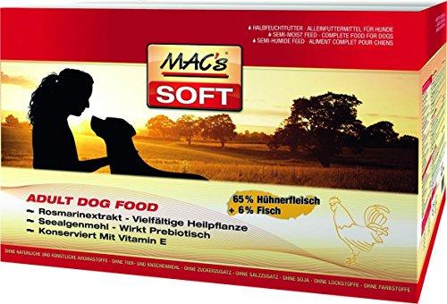 Mac's Soft Hundefutter, 1er Pack (1 x 15 kg)