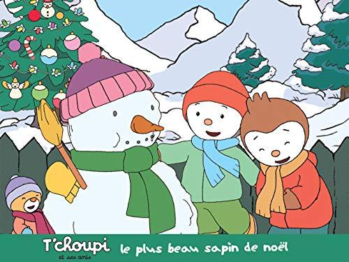 Tchoupi et ses amis : Le plus beau sapin de noël