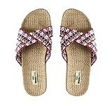 Chanclas de Playa BRASILERAS®,Tren 50 .Suela Antideslizante del 34 al 41. Mujer para Interior/Exterior. Zapatos Casual Verano