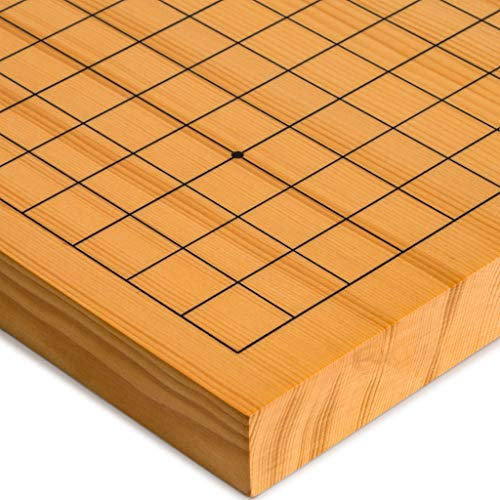 Yellow Mountain Imports Reversible Shin Kaya Go Game Table Board (Goban), 1.2-Inch Thick