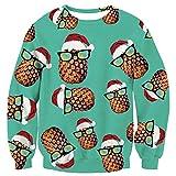 Hässlicher Ananas Weihnachtspullover