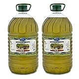 Aceite de oliva virgen extra Cortijo la Muralla - Pack 2 Garrafas 5 Litros - Variedad Hojiblanca