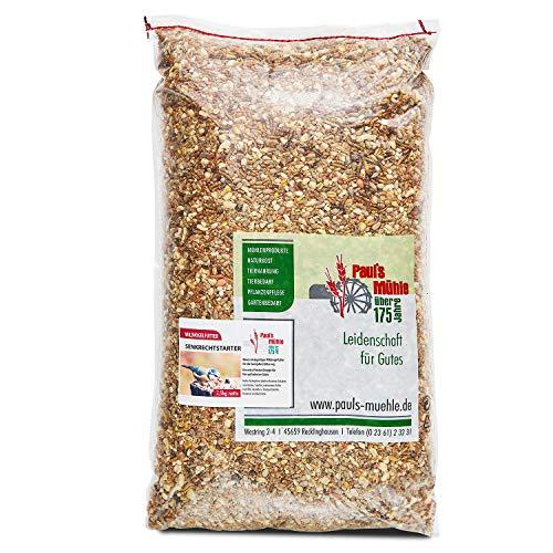 Paul´s Mühle Premium Ganzjahresfutter für Wildvögel mit extra hohem Fettanteil, Vogelfutter zur Ganzjahresfütterung, Senkrechtstarter, 2,5 kg