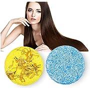 Haar Shampoo Bar, Shampoo Bar Haarseife, Anti Schuppen und Öl-Kontrolle, 2 Stücke Festes Shampoo Haarseife Naturkosmetik, Natürliches Pflanzliches Festes Seifenhaar Reise Haarpflege
