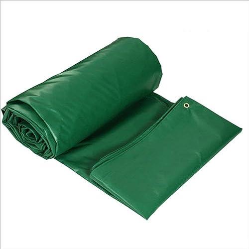 Yetta Couvertures imperméables de Feuille de Sol de bache de PVC de bache pour Camper, pêcher, jardiner l'épaisseur 0.4mm 450g   m2, Multi-Taille facultative (Taille   4  6m)