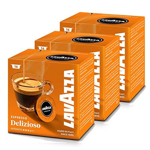 Lavazza A Modo Mio Espresso Delizioso, Kaffee, Kaffeekapseln, Arabica, 48 Kapseln
