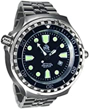 Tauchmeister 52mm Diver Watch -Automatic movt. Sapphire Glass -Metall Band T0253-M