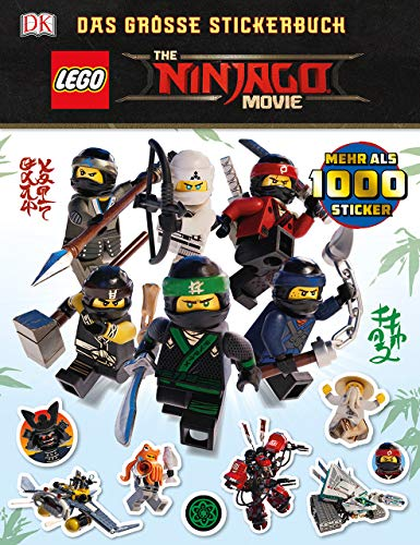 THE LEGO® NINJAGO® MOVIE Das große Stickerbuch