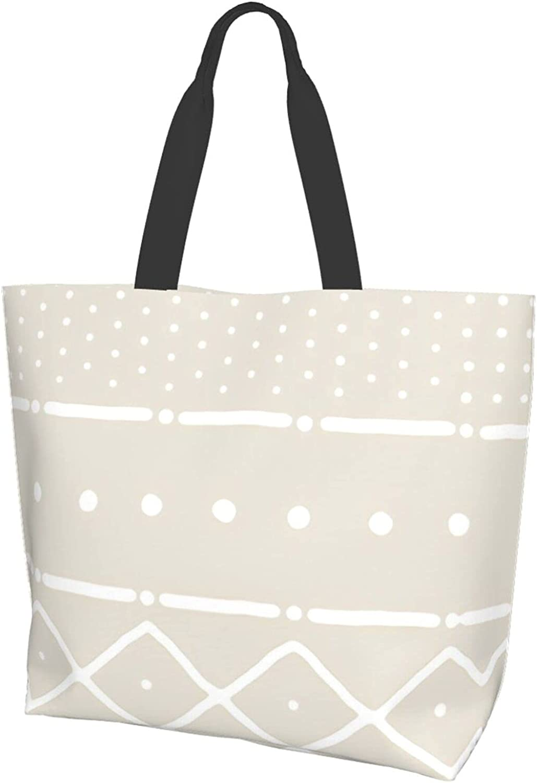 Mudcloth Ii In White Ranking TOP15 On Bone Women Travel Free Shipping New Handbag Bag O Foldable