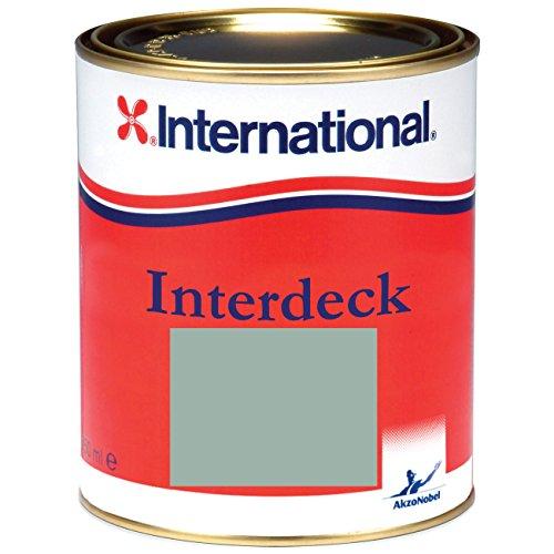 International Interdeck / Rutschfeste farbe | Grau | 750ML | Seidenglanz, für alle Oberflächen