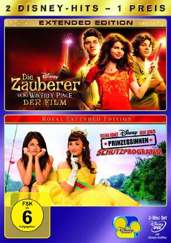 Die Zauberer vom Waverly Place - Der Film / Prinzessinnen Schutzprogramm [2 DVDs]