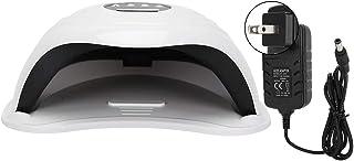 36 cuentas de luz, temporizador inteligente, portátil, LED, lámpara de secado de esmalte de uñas de gel UV, máquina de curado de uñas para el hogar con sensor infrarrojo inteligente para salón(02)