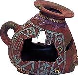 Exotic Environments Incan Vase Aquarium Ornament, Small