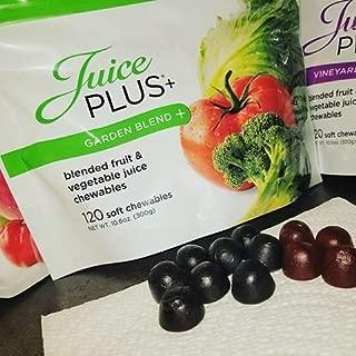juice plus garden blend chewables