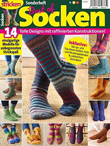 Simply Stricken Sonderheft - Best of Socken: Tolle Designs mit raffinierten Konstruktionen!