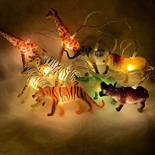 HOOLIGHT String Lights 10 LEDs The Small Animals String Lights Children Room Decoration Super Fun Lights Light for Boys Room Indoor String Lights Liven up The Room 4