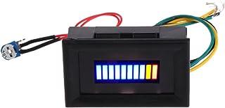 A0127 12V Universal Motorrad Auto Ölwaage LED Öl Kraftstoffstand Anzeige