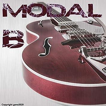 Modal Backing Tracks - B