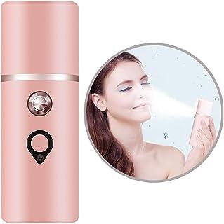 ナノミスター、スプレーハンディーフェイシャルミストフェイススプレーヤー美容スキンケアマシン、フェイシャルスチーマー美容スキンケア用品、USB充電式