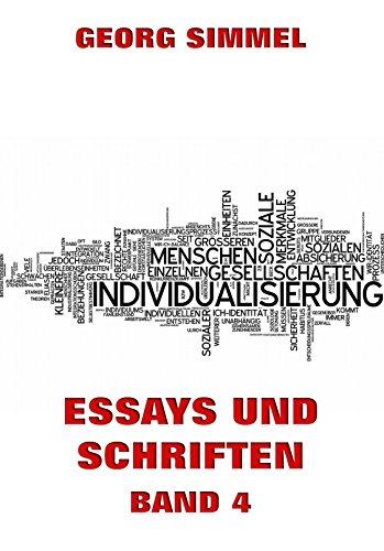 Essays und Schriften, Band 4 (German Edition)