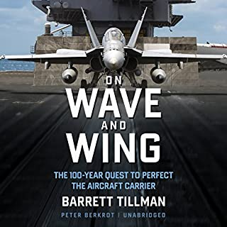 On Wave and Wing audiobook cover art