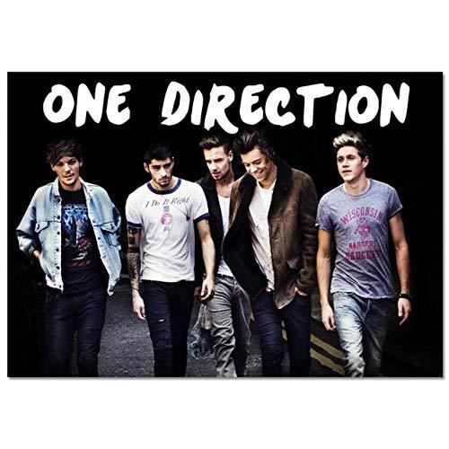 LDTSWES® Rompecabezas Rompecabezas, Madera One Direction British Band Puzzle 1000 Piezas, para Desarrollar Inteligencia Boy Girl Fun Gift Puzzle de ensamblaje