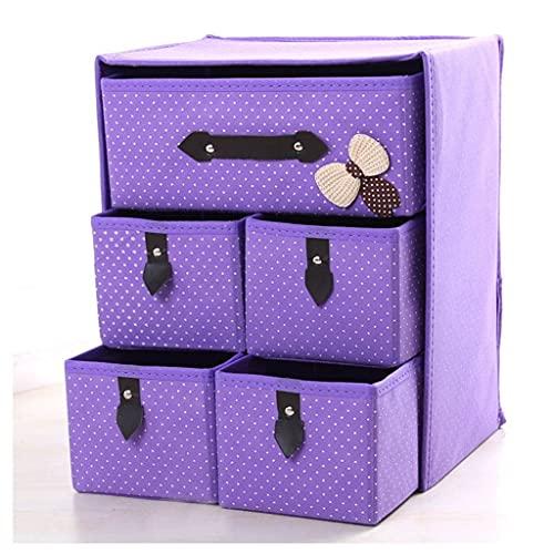 Caja de almacenamiento Organizador Caja de almacenamiento Cajón Cartel Clasificado Sundries Organizadores Inicio Oficina Organizador Inicio Polvo A prueba de polvo Space Tela Caja de almacenamiento 07