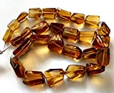 LOVEKUSH 50% Off Gemstone Jewellery BEER QUARTZ faceted nuggets, beer quartz gemstone, very nice quality, size - 9x12 mm - 17x20 mm Approx, 18' strand [E2080] Code:- RADE-32648
