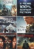 Science Fiction / Chappie - 2012 - Elysium - Terminator : Renaissance - World...