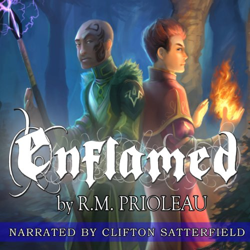 Enflamed audiobook cover art