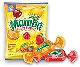 Storck (1) Bag Mamba Fruit Chews Candy Assorted Flavors - Strawberry, Raspberry, Orange, Cherry, Lemon - Net Wt. 7.05 oz
