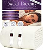 Sweet Dreams Electric Blanket King Size with Dual Controls Digital - Size 152