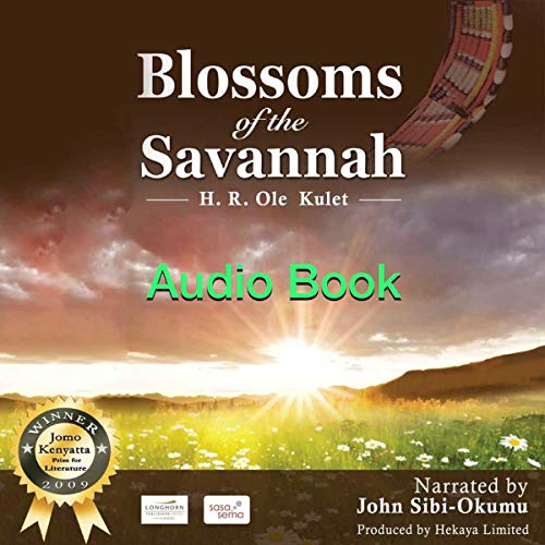 Blossoms of the Savannah audiobook cover art
