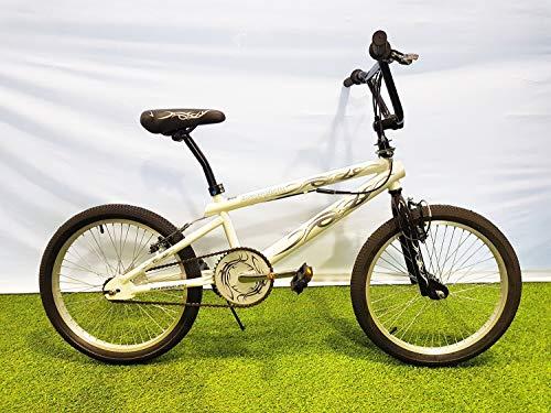 SCHIANO Fahrrad 20' Scorpion Freestyle BMX weiß