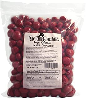 Bulk Chocolate Covered Royal Cherries - 5lb Bag - by Dilettante