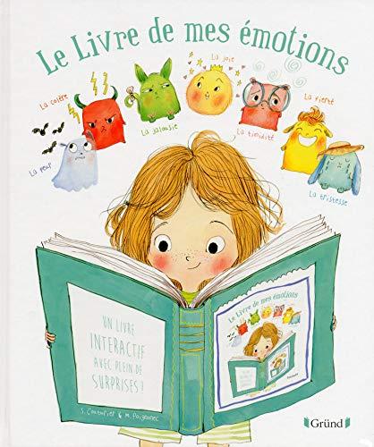 Le livre de mes émotions – Livre à volets et rabats – À partir de 3 ans