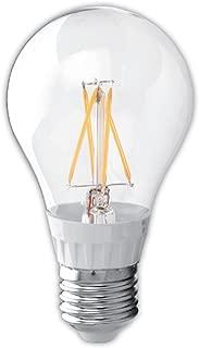 Maximus M-5A19-827-E26-F-D A19 Filament Led Bulb, Dimmable