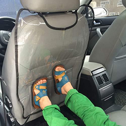 KKmoon Autostoelhoes voor kinderen, honden, autostoel, Kick, mat, stofbescherming, 45 x 57 cm