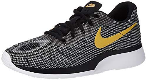 Nike Tanjun Racer, Scarpe da Ginnastica Basse Uomo, Multicolore (Black/Wheat Gold/White 009), 45 EU