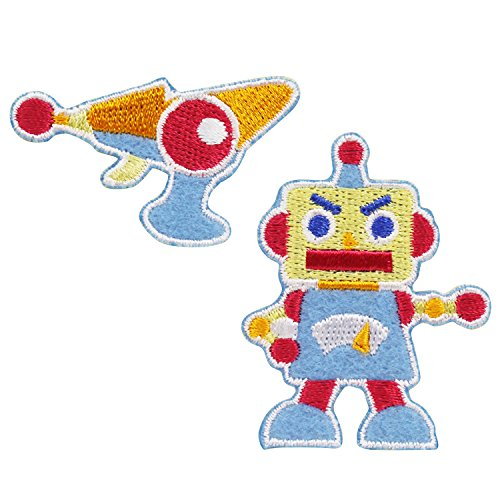 『キッズワッペン ロボット』 KWP-32